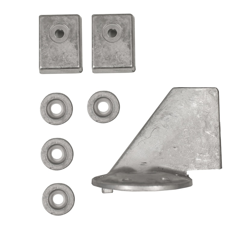 Tecnoseal Anoden Anodensatz Set Kit Aluminium für Volvo Penta AQ 250 270 275